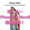 iPhone14(2022)は、6.1インチと6.7インチの2サイズ展開?〜すでに価格予想も出ております!〜