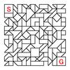 四角渡り迷路:問題8