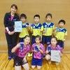 【 試合結果 】 第24回宮城県ホープス団体卓球選手権大会