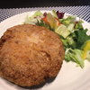 ロカボ料理実践記【低糖質鶏のチーズはさみ揚げ】おからパウダー使用