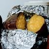 簡単でホクホク。アラジンのブルーフレームヒーターで焼き芋を作ります。