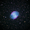 秋に惑星 二つ NGC6826 & 6853