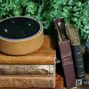 【レビュー】Amazon Echo Dot用 純正レザーケース