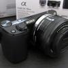 初めてのミラーレスカメラ!SONY NEX-5R をもらった