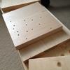本棚を乗せる棚を作る