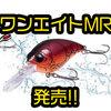 【ペイフォワード】中層を早巻き出来るクランクベイト「ワンエイトMR」発売!