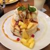mog パイナップル・アフォガードのパンケーキ