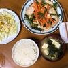 鶏胸肉の野菜炒めを夕食に決定 ライター作業を粘り強く行う