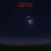 【占星術】水瓶座満月。木星と土星と月が肉眼で見えるぞー!