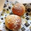クルミとオートミールのふわふわ田舎パン