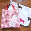 セリアで簡単手作り♪幼稚園のイス用座布団♪