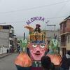 エクアドル田舎町のカーニバル風景(エクアドル
