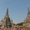 タイ・バンコク:クルーズでアユタヤ観光④ワット・プラ・シーサンペット(Wat Pra Srisanpet)