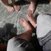 呑んで食って足湯に浸かって柴犬を愛でる・・・ :湯田温泉酒祭り、その三