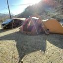 始めてキャンプ