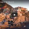 【殿堂入り】断崖に立ち並ぶ美しい家々 イタリアのチンクエ・テッレ