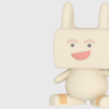 【blender #1】blenderを使ってブログアイコンのオリジナルキャラクターを3Dモデル化してみた