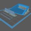 タミヤの180SX用アイローネゲートを3Dプリンタで作る② 3Dモデル仮完成、スライサーで変換