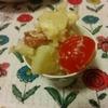 ポテサラレシピ:チーズが隠し味のウインナーポテサラ