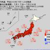 気象庁は異常天候早期警戒情報を発表!沖縄・奄美・九州南部・北海道地方を除く全ての地域で7/17頃から1週間は気温がかなり高く!7/17~26日頃にかけて東日本と西日本では猛暑日が連発も!!