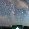 星の軌跡の作り方