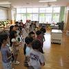 1年生:学習発表会の練習