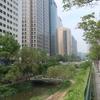 【ソウル2019】空港特急AREXで都市高速を撤去して復元された都市河川「清渓川」を訪問。
