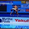 世界水泳 シンクロ ミックスデュエット 決勝