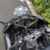 """バイク修理 - ミラー交換 """"直すまでが反省"""""""