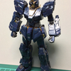 RG RX-0[N] ユニコーンガンダム2号機 バンシィ・ノルン(3)〜胸部・腕部・頭部、上半身の製作〜
