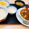 松屋の「玉子で食べる四川風麻婆豆腐定食」を玉子無しで食べる!?