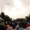 大阪ハーフマラソン:今年も100分切りならず・・・