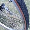 自転車のタイヤを交換