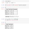 【pandas】 DataFrameから特定の列の取り出し方
