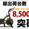 入荷しても直ぐ売り切れのスピンバイク5006再入荷!