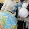 地球儀づくり