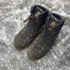 登山靴の手入れ