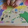 夏休み中の娘、公文のパズルで進化中(*´▽`*)