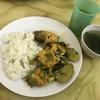 お昼はコムビンザンで 初めてのお昼の外食