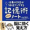 【本】記憶術サクッとノート 宇都出 雅巳(監修)