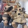 バーバリーでクマの人形買ってもらった