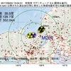 2017年09月24日 13時04分 若狭湾でM3.4の地震