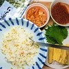 ピクルスで簡単酢飯と手作りイクラで手巻き寿司の作り方。