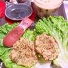 ふかふか椎茸のマッシュポテト焼き