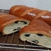 黒豆パンとわらび餅