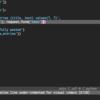 flake8 で continuation line under-indented for visual indent [E128] が出る時