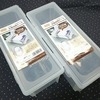 【グッズ保管】割り箸ケース・パスタケースが缶バッジの収納にとても便利な件