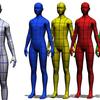 クリスタ3Dデッサン人形の色や陰影を変える
