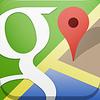 Google Mapのナビ[クロスバイク]