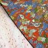 おひさまいろの着物を作る 色とりどりの草花模様